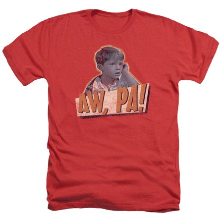 Andy Griffith Icon Aw Pa Adult Heather T-Shirt Tee - Aw Adult
