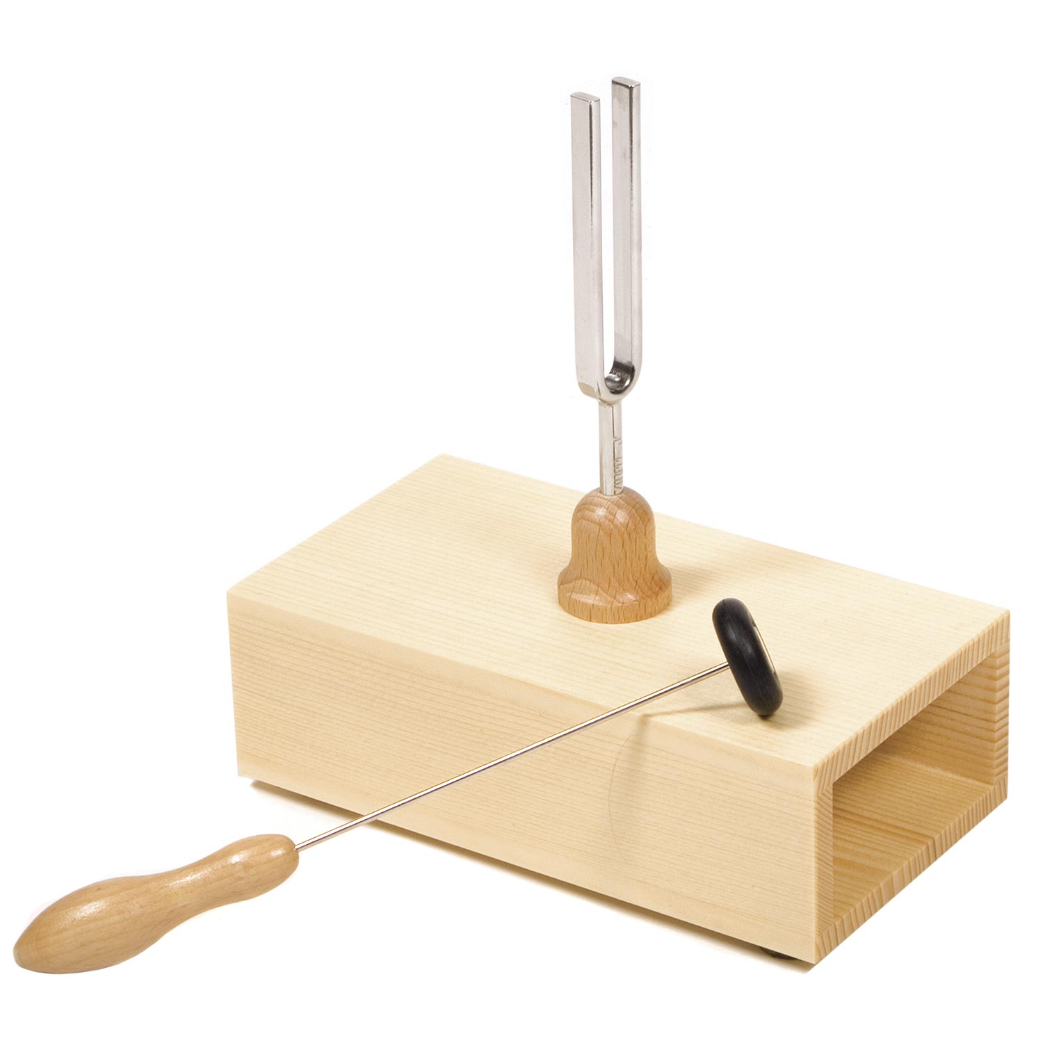 Wittner Tuning Fork with Wood Resonator Box A440 by