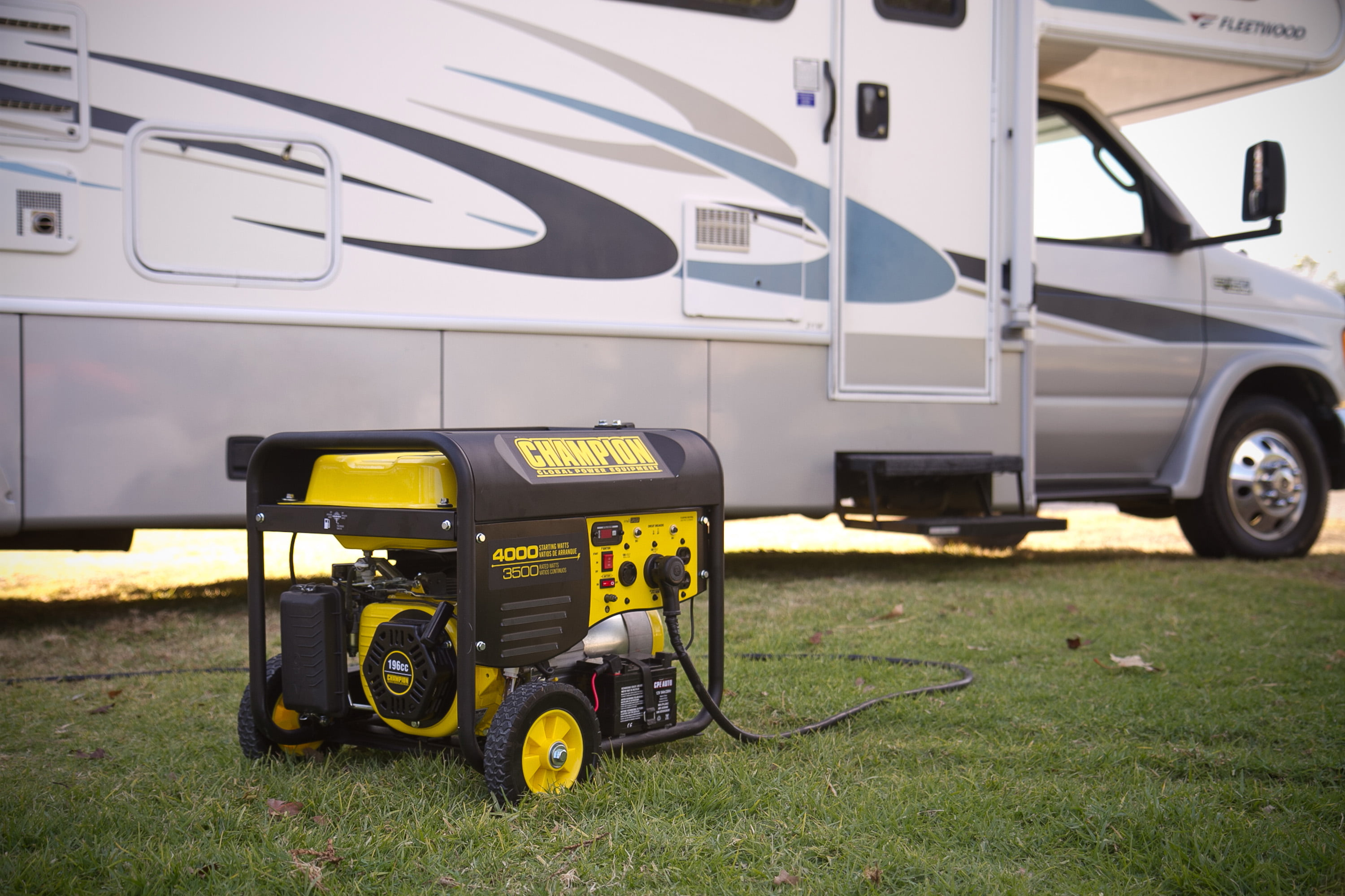 Depot Your One Stop Trailer Shop 7 Blade Rv Type Plug Wiring Champion 46565 3500 Watt Ready Portable Generator With Wireless Remote Start Epa