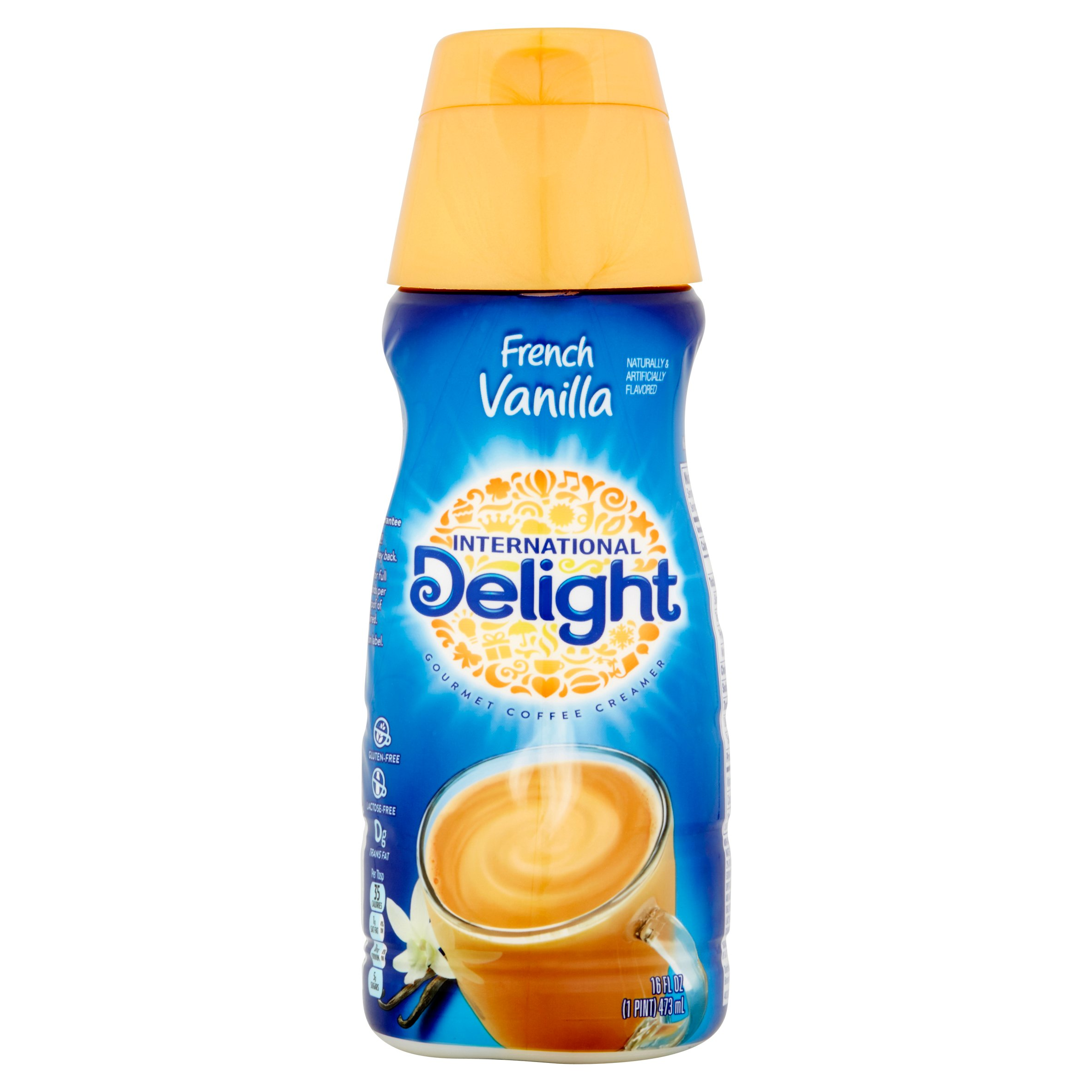 International Delight French Vanilla Gourmet Liquid Coffee Creamer, 16 oz