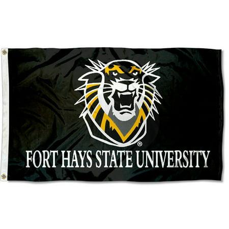 Fort Hays State University Tigers Flag (University Large Flag)