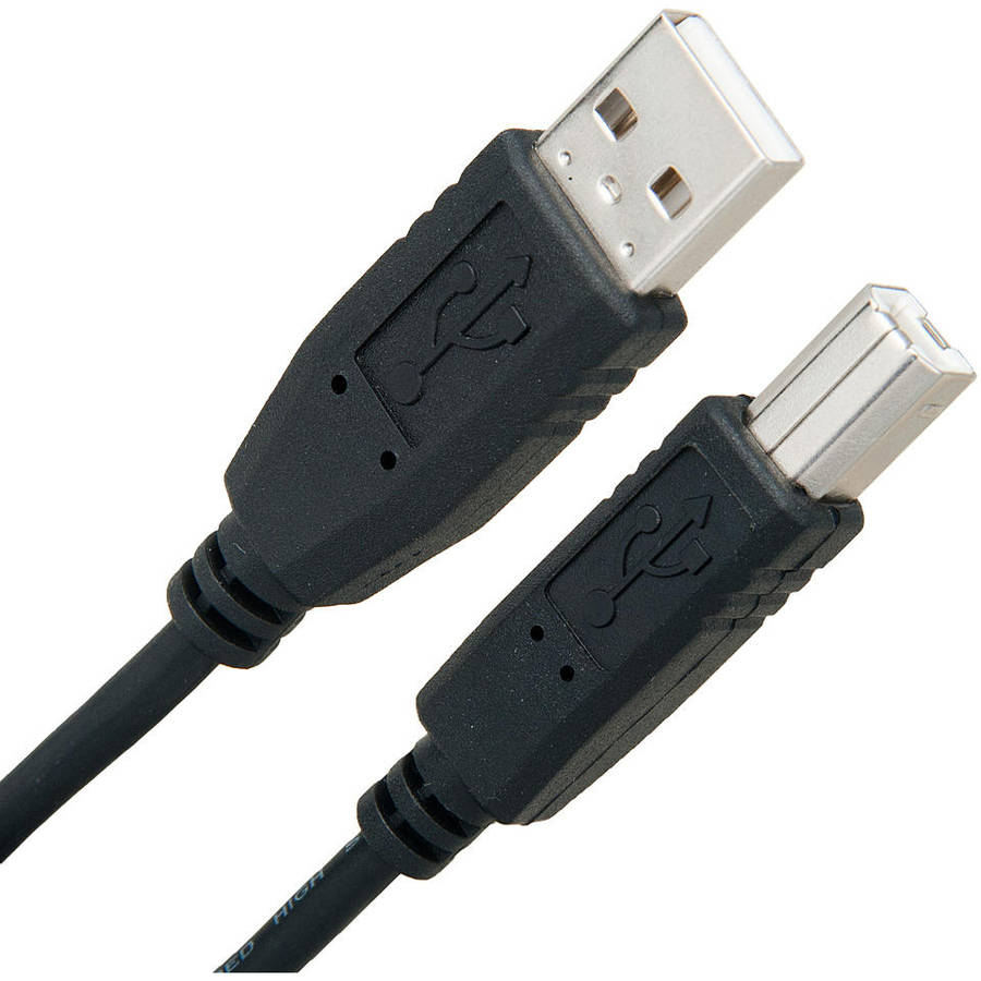 Link Depot USB A to B Printer Cable 6' 10' 15'
