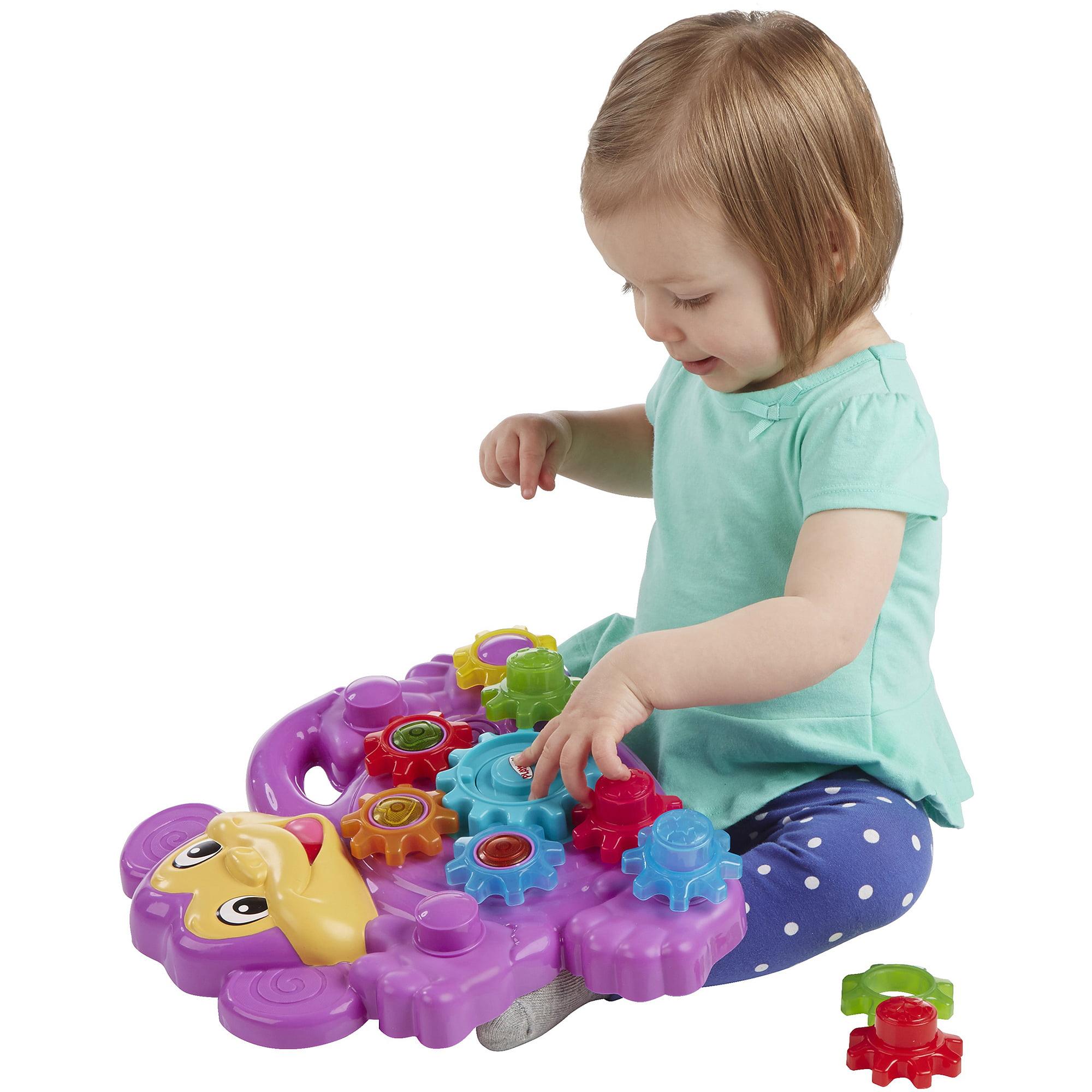 Playskool Stack \'n Spin Monkey Gears Toy - Walmart.com