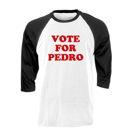 Vote For Pedro Shirt (VOTE FOR PEDRO dynamite funny election - Cotton RAGLAN)
