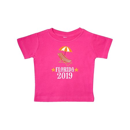 2019 Florida Beach Vacation Trip Baby T-Shirt