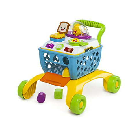 Bright Starts 4-in-1 Shop 'n Cook Walker (Bright Starts Juneberry Delight Walk A Bout)