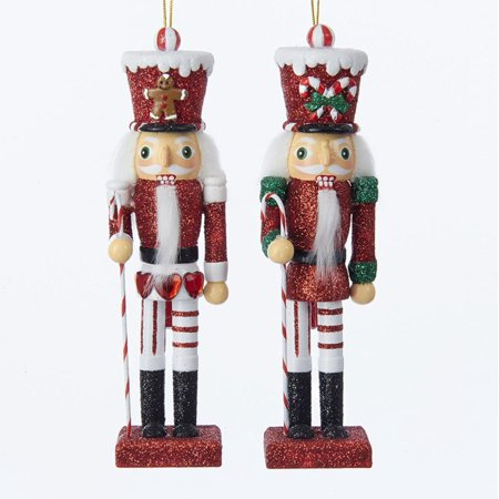 club pack of 12 red and white soldier christmas decorative nutcracker ornaments 6