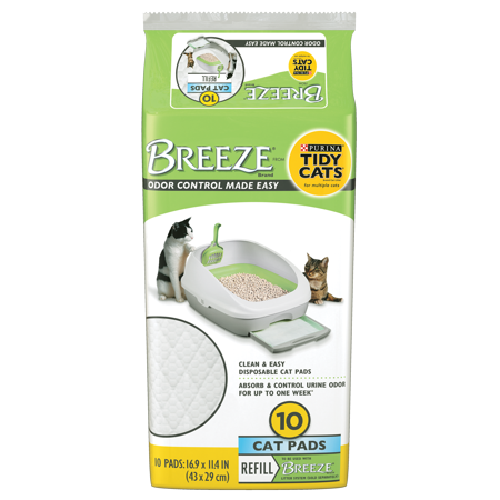 Purina Tidy Cats BREEZE Cat Pads Refill Pack - 10 ct. Pouch