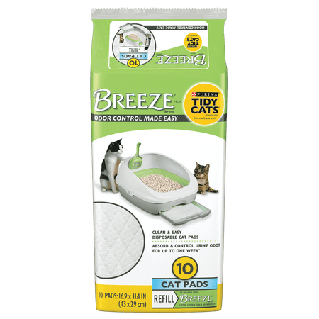 Pad Refill Pack (Tidy Cats Breeze Cat Pads Refill Pack - 10 ct.)