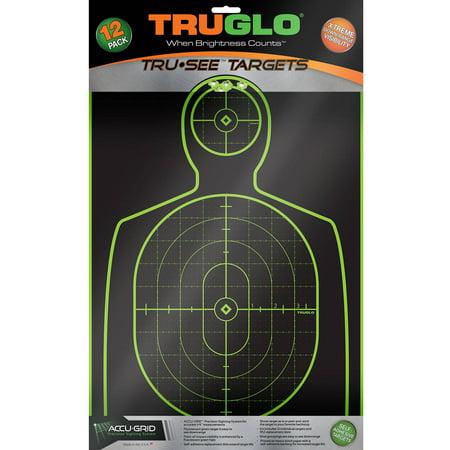 Truglo Handgun Target 12x18
