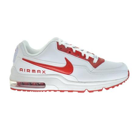 buy online 912e2 9c96b Nike - Nike Air Max LTD 3 Mens Shoes WhiteUniversity Red 687977-160 -  Walmart.com