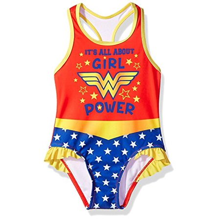 Wonder Women Wonder Woman Superhero Girls Tankini Swimwear