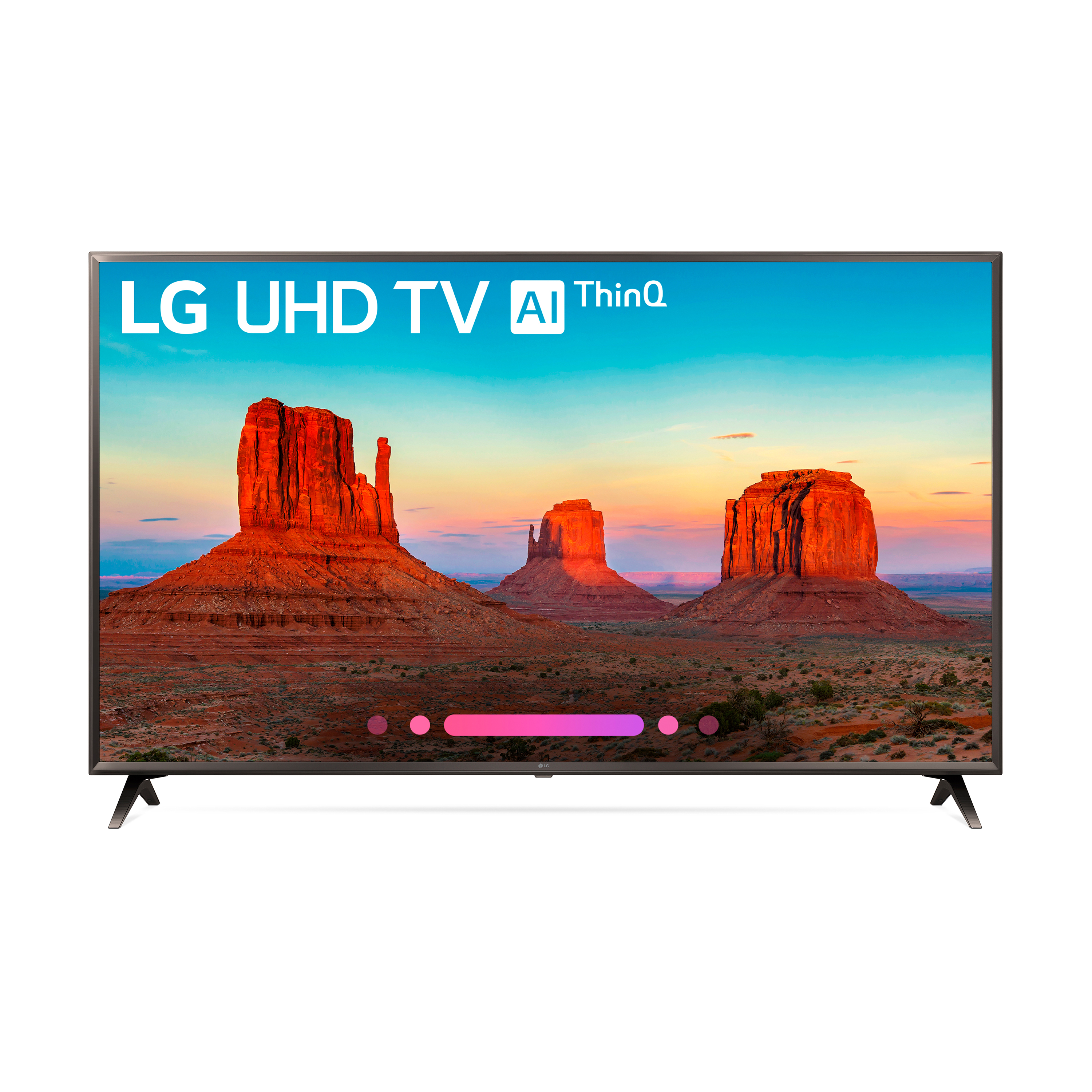 "LG 65"" Class 4K (2160) HDR Smart LED UHD TV w/AI ThinQ - 65UK6300PUE"