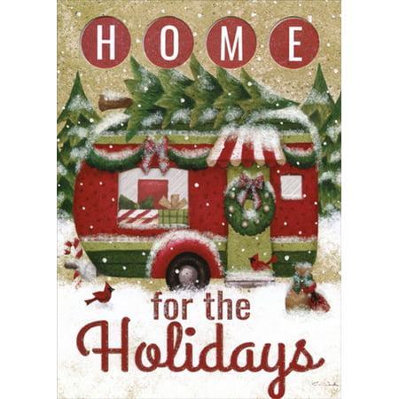 LPG Greetings Holiday Trailer : Tina Wenke Die Cut Christmas -