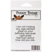 Riley And Company Funny Bones Cling-moun