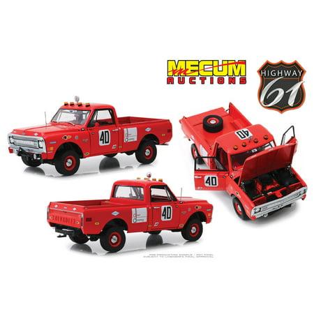 1969 Chevrolet C10 Baja 1000 #40 Pickup Truck Red