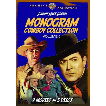 MOD-MONOGRAM COWBOY COLLECTION VOL 5 (3 DVD/NON-RETURNABLE/1943-51) (DVD)