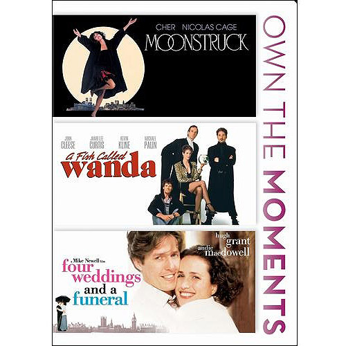 Four Weddings And A Funeral   A Fish Called Wanda   Moonstruck (Widescreen) by FOX SEARCHLIGHT