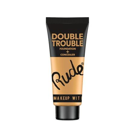 RUDE Double Trouble Foundation + Concealer - Natural - image 1 de 1