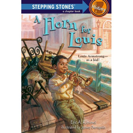 A Horn for Louis : Louis Armstrong--as a kid!
