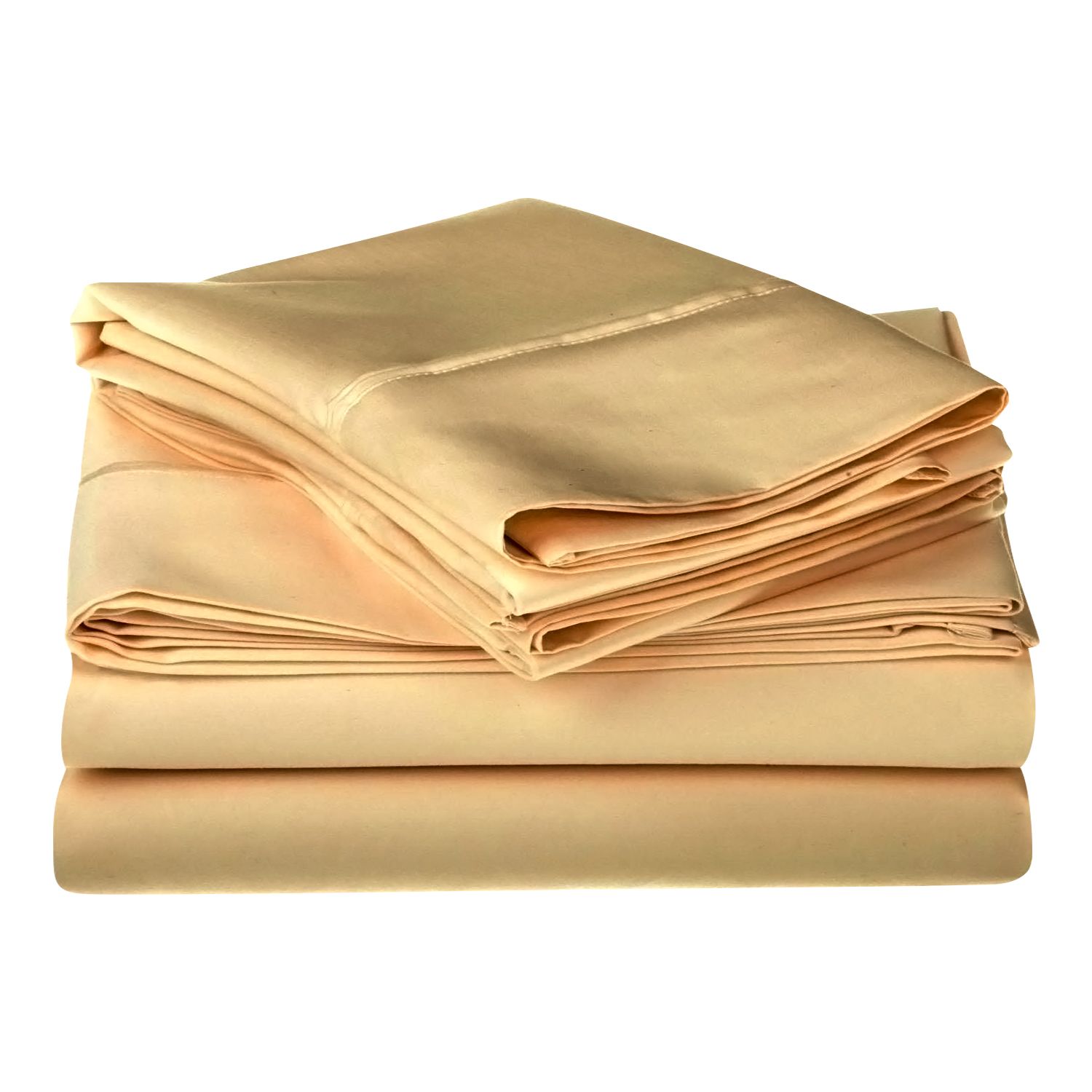 Superior 1200 Thread Count Single-Ply Egyptian Cotton Solid Sheet Set