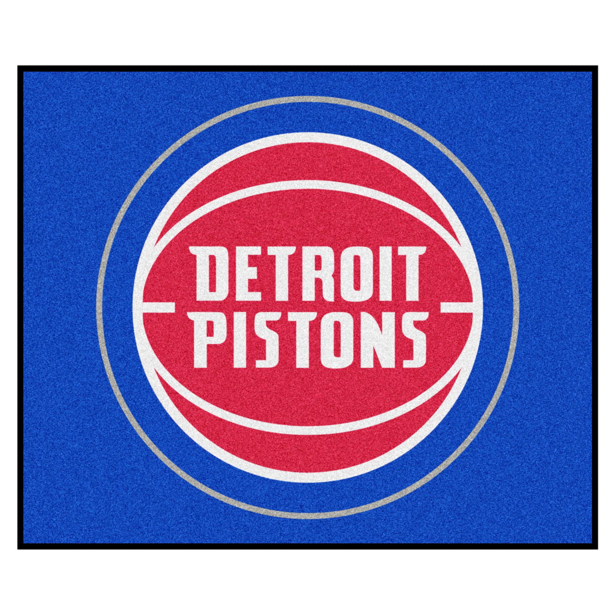 NBA - Detroit Pistons Tailgater Rug 5'x6'