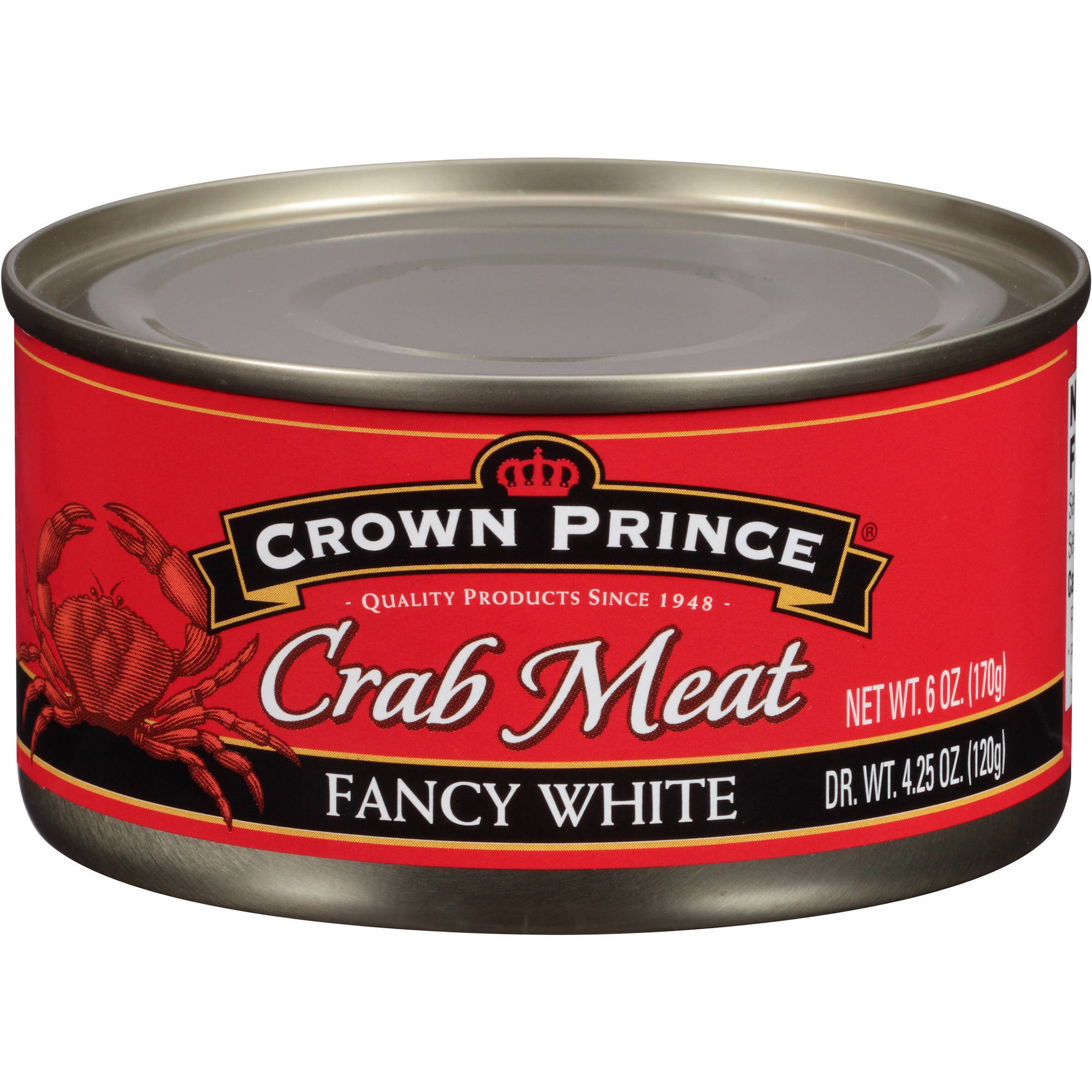 Crown Prince Fancy White Crab Meat, 6 oz by Generic