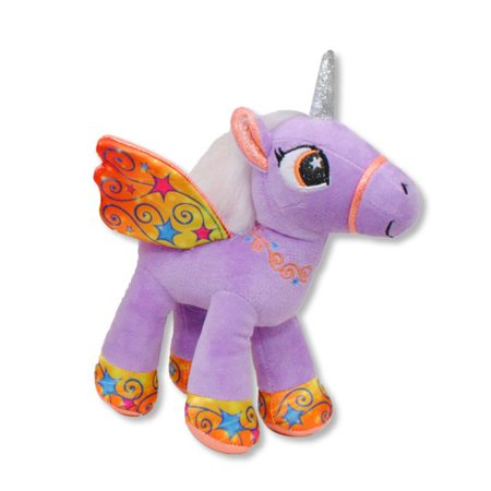 Gabitoy Purple Unicorn with Wings Plush Animal - 8