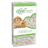 Carefresh White Small Pet Bedding and ComfyFluff paper provides pillowy softness
