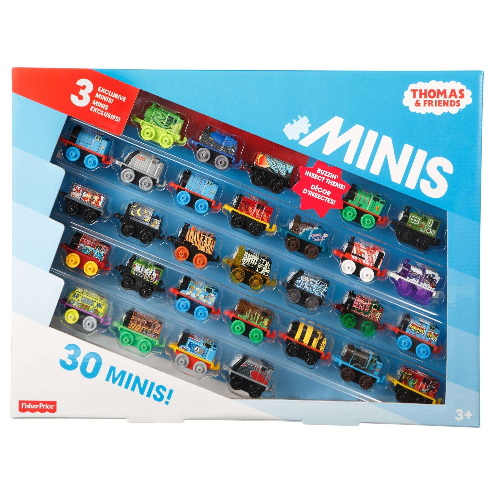 Thomas & Friends MINIS, 30 Pack by Mattel