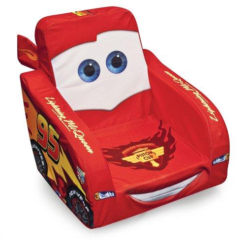Disney Cars 2 Lightning McQueen Talking Feature Chair