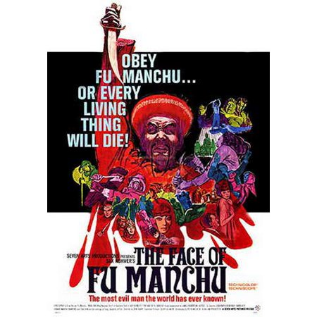 The Face of Fu Manchu (Vudu Digital Video on Demand) - Fake Fu Manchu Mustache
