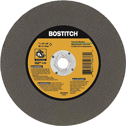 Bostitch Masonary Grinding Wheel, BSA3501M