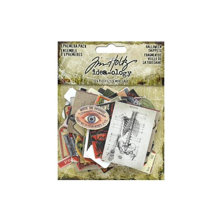 TH93983 TIM HOLTZ IDEA-OLOGY HALLOWEEN EPHEMERA PACK SNIP
