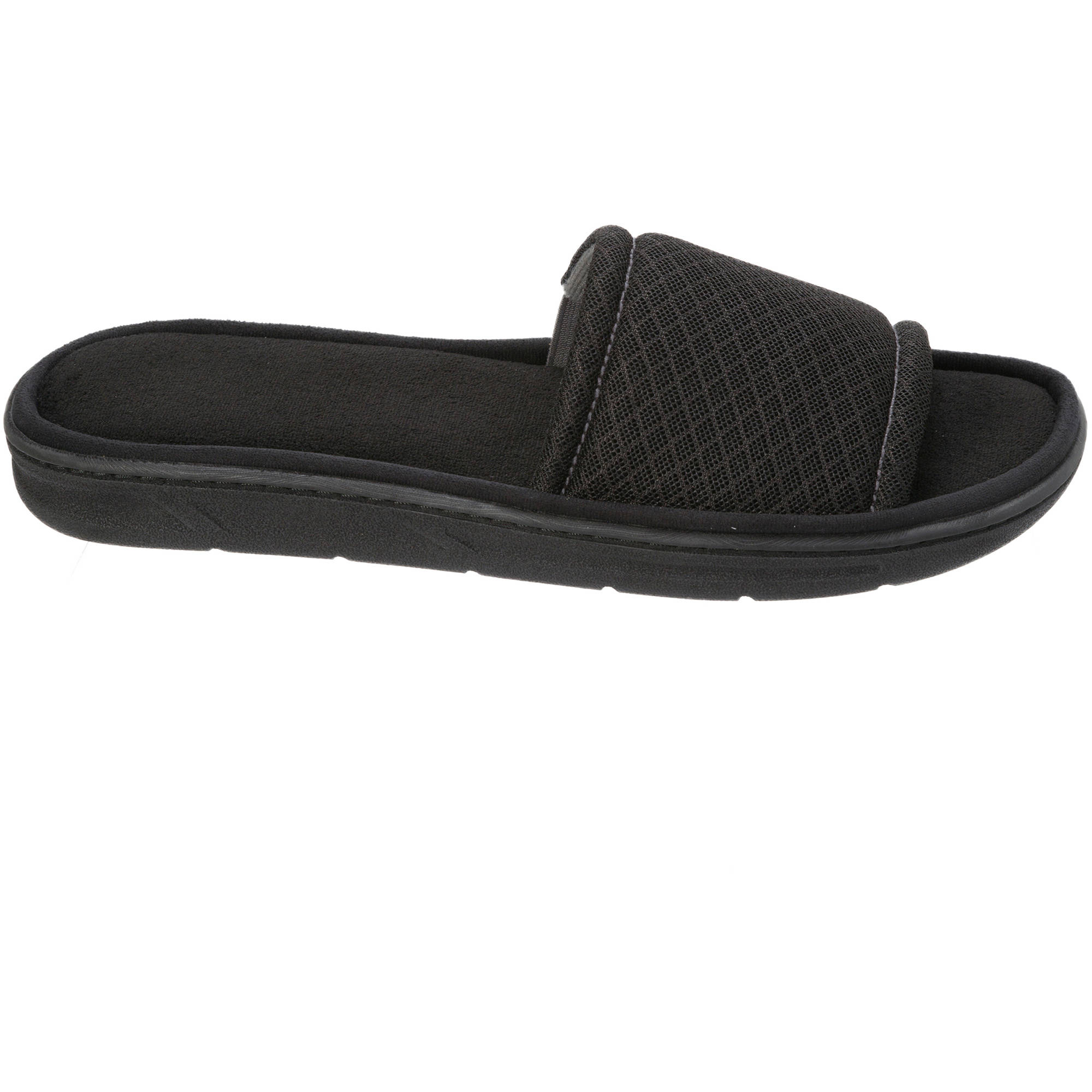 Image of DF by Dearfoams Men's Mesh Slide Slipper