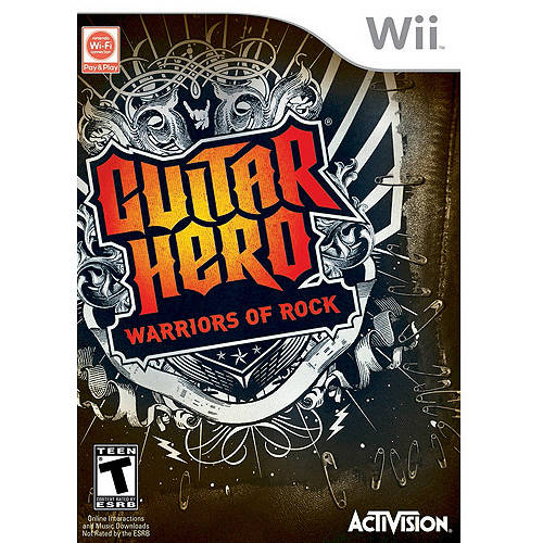 Guitar Hero: Warriors Of Rock Software (