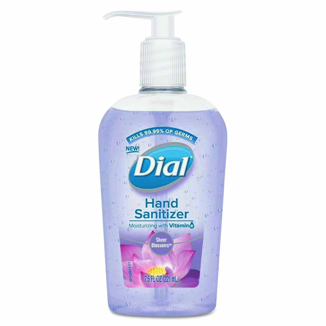Dial Hand Sanitizer Sheer Blossoms 7.5 fl. oz. Pump by Henkel AG & Co