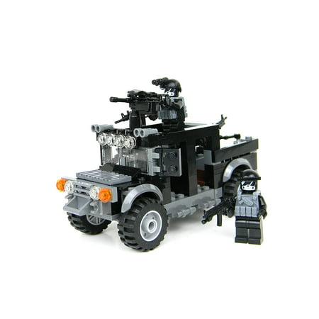 Special Forces Black Ops Humvee Battle Brick Custom Set Walmart