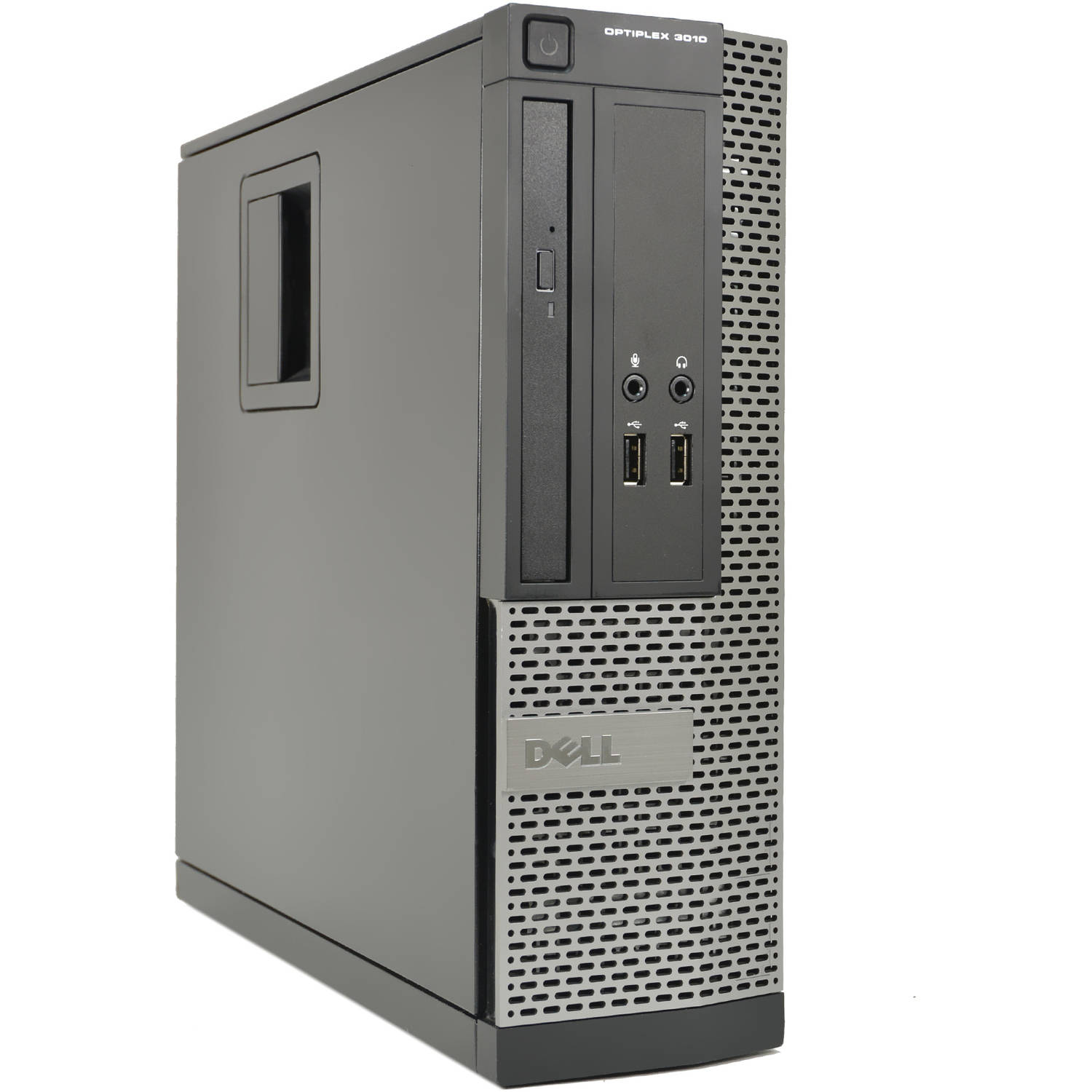 Refurbished Dell OptiPlex 3010-SFF Desktop PC with Intel Core i3-3220 Processor, 4GB Memory, 250GB Hard Drive and Windows 10 Pro (Monitor Not Included)