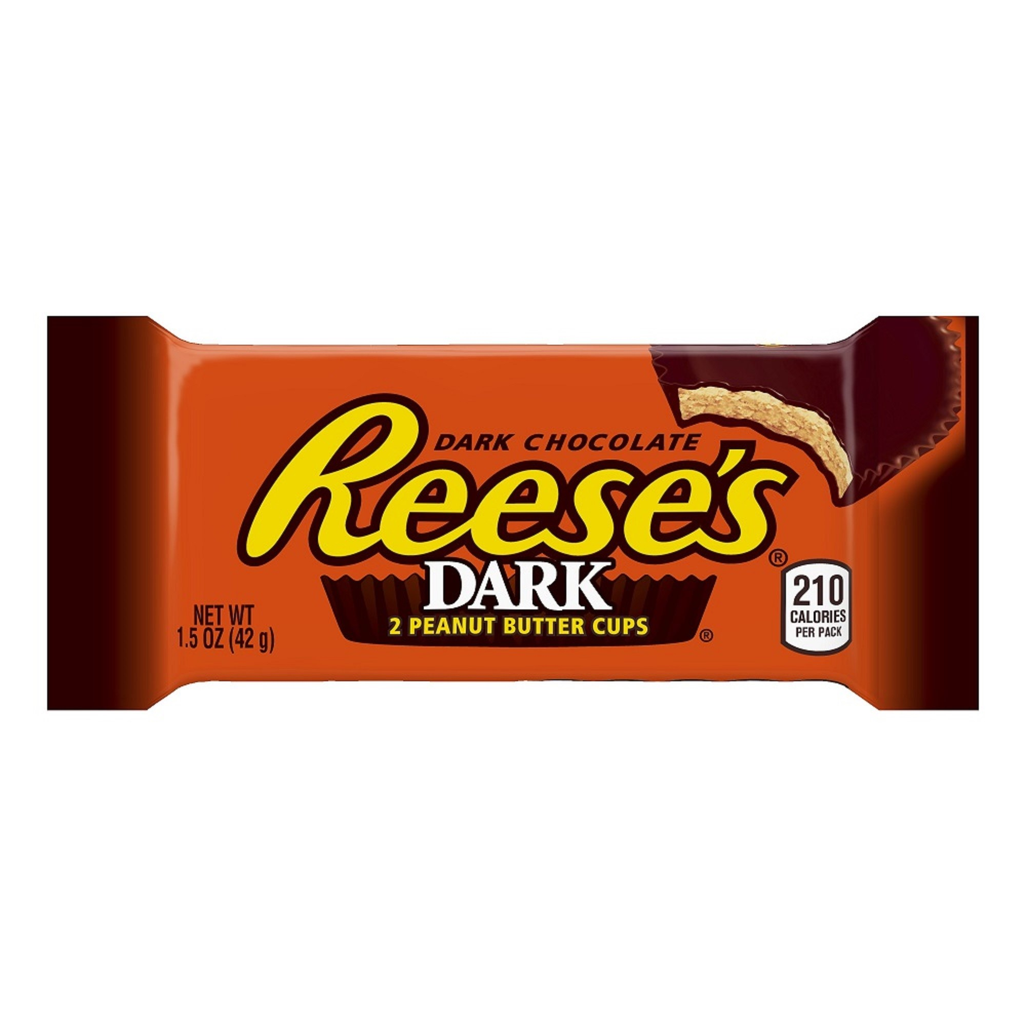 Reese's Peanut Butter Cups, Dark Chocolate, 1.5 Oz