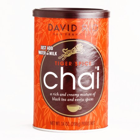 David Rio Tiger Spice Chai Mix 14 oz each (5 Items Per Order, not per case) - Walmart.com