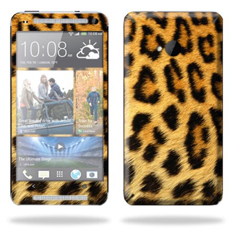 Mightyskins Protective Skin Decal Cover For Htc One M7 Cell Phone Wrap Sticker Skins Cheetah