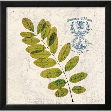 Jade Forest Leaf 4 Framed Print Wall Art By Morgan Yamada - Walmart.com