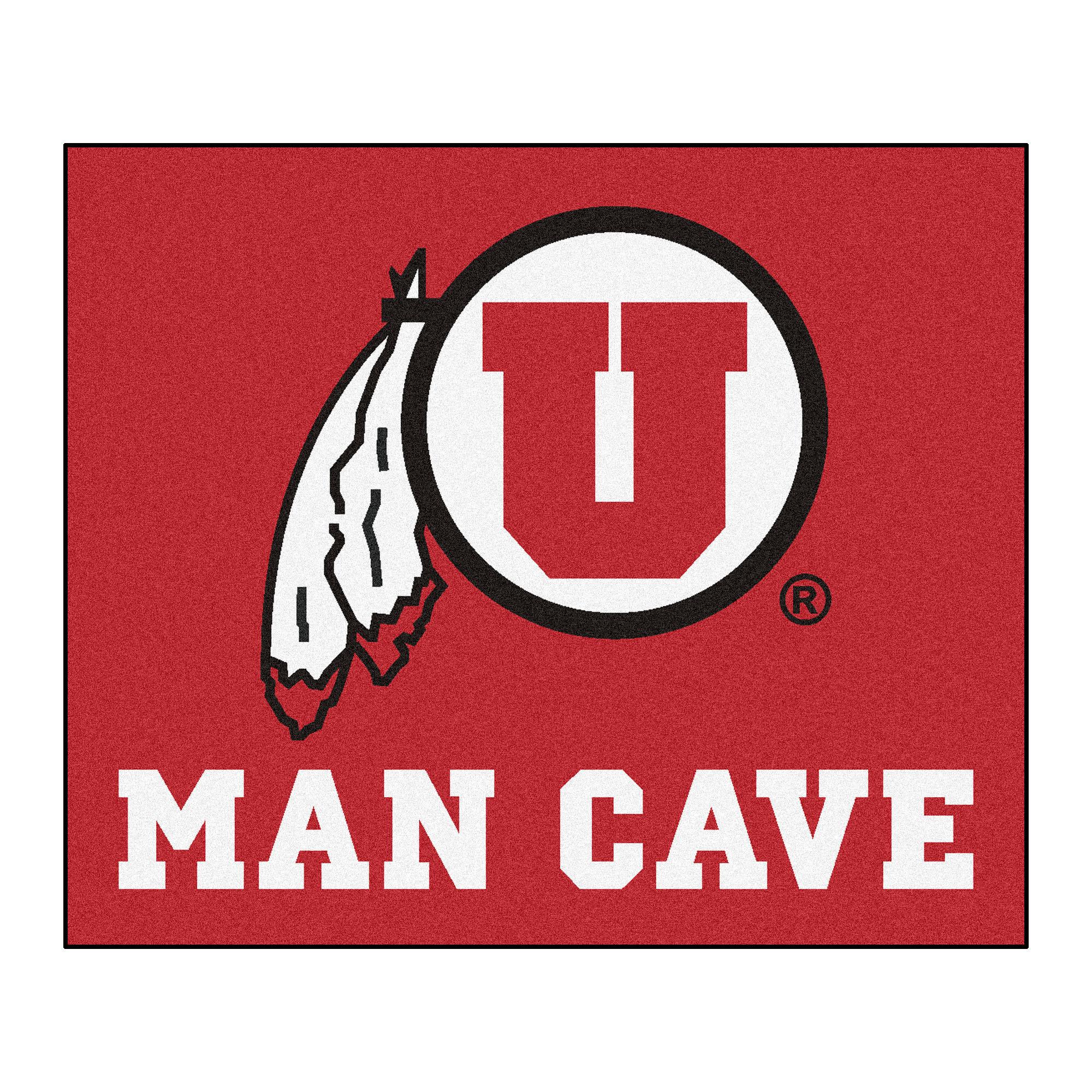 Utah Man Cave Tailgater Rug 5'x6'