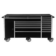 Excel 72In Metal Roller Cabinet with 14 Ball Bearing Drawers