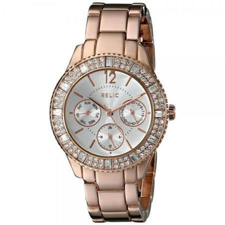Relic Women's ZR15741 Sophia Rose Gold-Tone Watch