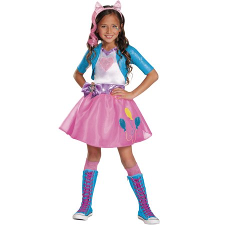 Pinkie Pie Equestria Deluxe Costume for - Pinkie Pie Equestria Girl Costume