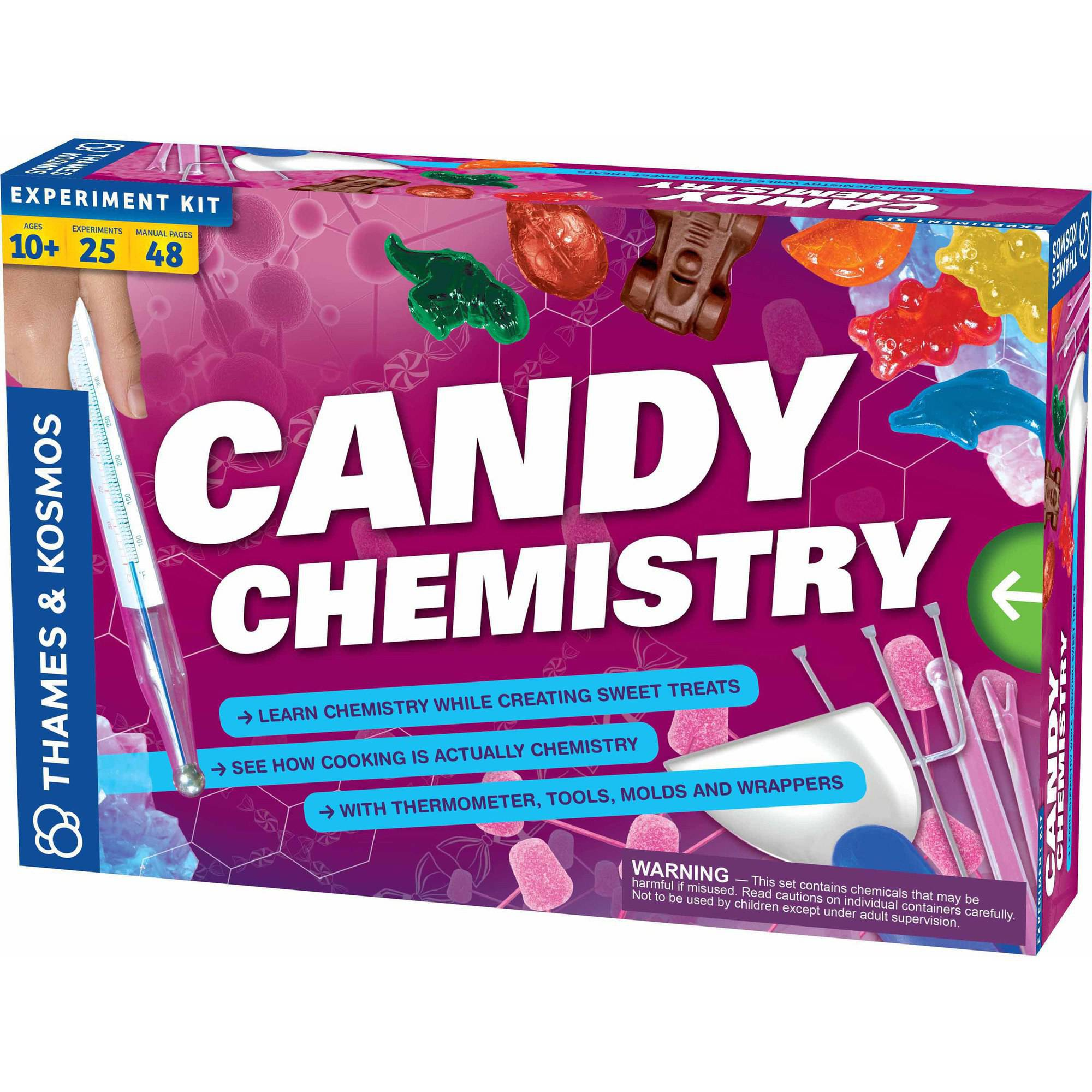 Thames & Kosmos Candy Chemistry Science Experiment Kit 665003