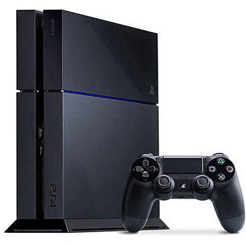 Sony PlayStation 4 500GB Console (PS4), Black
