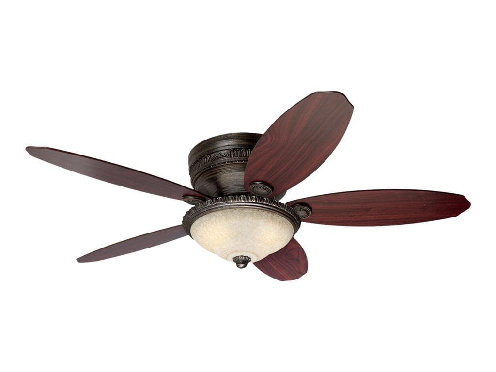 "Hunter Fan Company 54077 St. Michaels 52"" Egyptian Bronze Pewter Ceiling Fan with 5... by Hunter"